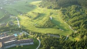 ROBINSON Club Ampflwang Überblick über den 18-Loch großen Golfplatz