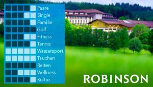 ROBINSON Club Ampflwang Reisebüro Köln mit Reisen, Kunst & Events.