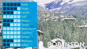 ROBINSON Club Arosa bei Diko Reisen, Ihrem Reisebüro in Köln mit TOP Reisen