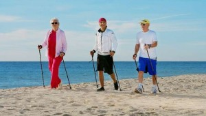 CLUB MAGIC LIFE Africana Imperial Nordic Walking Fitnesskurse am Strand