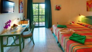 ALDIANA Fuerteventura Doppelzimmer mit Balkon und tollem Gartenblick