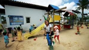 CLUB MAGIC LIFE Fuerteventura Imperial Kinderbetreuung auf dem Spielplatz