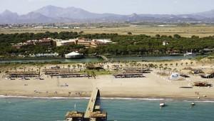 ROBINSON Club Nobilis Überblick über den Strand und das Meer
