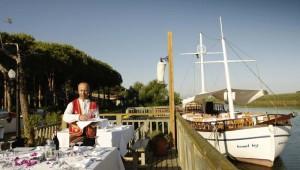 ROBINSON Club Nobilis Restaurant am Meer mit tollen Meeresspezialitäten