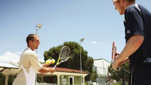 ROBINSON Club Nobilis Tennisunterricht für Anfänger und Fortgeschrittene