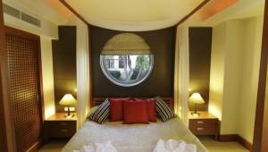 ROBINSON Club Nobilis Schlafzimmer im Bungalow Typ 1 in einer Villa