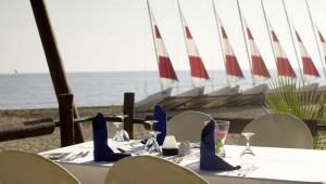 ROBINSON Club Pamfilya Restaurant am Strand mit köstlichen Speisen