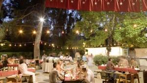 ROBINSON Club Pamfilya Restaurant im Garten mit köstlichen Speisen