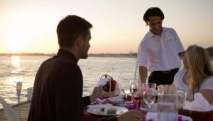ROBINSON Club Pamfilya Restaurant mit tollem Ausblick auf das Meer
