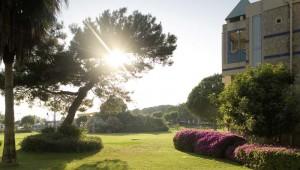ROBINSON Club Pamfilya Gartenanlage und Bungalows mit Meerblick
