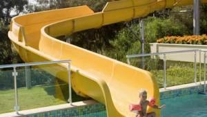 ROBINSON Club Pamfilya rasante Poolrutsche für Kinder und Erwachsene