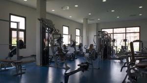 ROBINSON Club Playa Granada Sport im Fitnessraum mit Personal Trainer