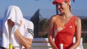 ROBINSON Club Playa Granada Tennis Match auf dem Tennisplatz
