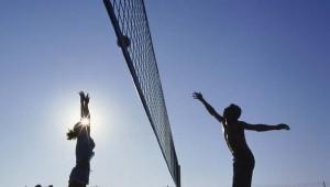ROBINSON Club Camyuva Beachvolleyballplatz direkt am Strand unter der Sonne