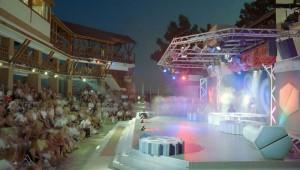 ROBINSON Club Camyuva Open-Air Bühne mit tollem Unterhaltungsprogramm