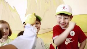 ROBINSON Club Alpenrose Zürs Kinderbetreuung und lustige Kinderanimation