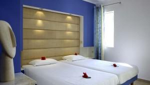 ROBINSON Club Daidalos Doppelzimmer Typ 1 mit Terrasse und Gartenblick