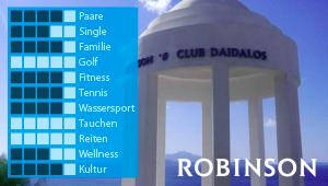 ROBINSON Club Daidalos bei Diko Reisen Ihrem Reisebüro in Köln