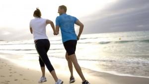 ROBINSON Club Esquinzo Playa morgendliches Joggen und Sport am Strand