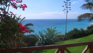 ROBINSON Club Esquinzo Playa Gartenanlage mit Aublick auf das Meer
