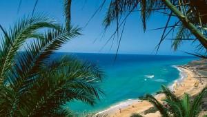 ROBINSON Club Esquinzo Playa Ausblick auf die Bucht und den Strand