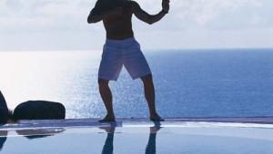 ROBINSON Club Esquinzo Playa Qigong und Sport mit Meerblick am Pool