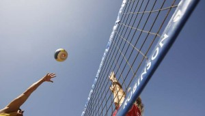ROBINSON Club Jandia Playa Beachvolleyball Kurse am Strand mit Meerblick