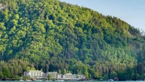 ROBINSON Club Landskron Lage am Ossiacher See zwischen den Bergen