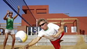 ROBINSON Club Quinta da Ria Beachvolleyball am Strand mit Meerblick