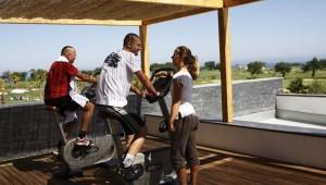 ROBINSON Club Quinta da Ria Spinning Training unter freiem Himmel