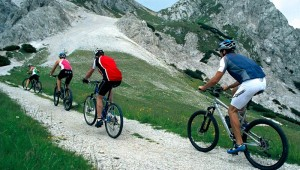 ROBINSON Club Schlanitzen Alm Mountainbike Tour mit Guide in die Berge