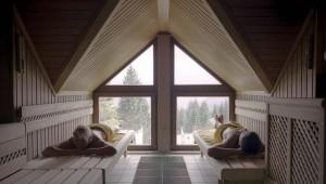 ROBINSON Club Schlanitzen Alm Sauna im WellFit -Bereich mit Aussicht