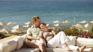 ROBINSON Club Sarigerme Park Sitzecke am Strand mit tollem Meerblick