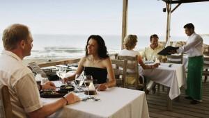 ROBINSON Club Sarigerme Park Strandrestaurant mit tollem Meerblick