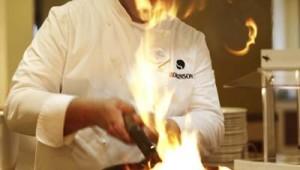 ROBINSON Club Sarigerme Park spannendes Show-Cooking der Köche