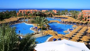 CLUB MAGIC LIFE Sharm el Sheikh Imperial Überblick über den Pool und das Meer