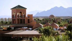 CLUB MAGIC LIFE Sharm el Sheikh Imperial Ausblick vom Zimmer auf den Berg