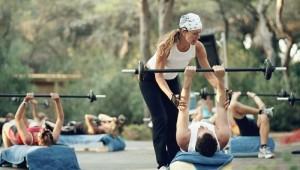 ROBINSON Club Apulia Sport und Krafttraining mit Personal Trainer im Garten
