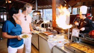 CLUB MAGIC LIFE Kemer Imperial Show Cooking im Restaurant und am Buffet