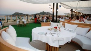 CLUB MAGIC LIFE Sarigerme Imperial schönes Restaurant mit tollem Meerblick