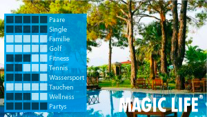 CLUB MAGIC LIFE Kemer Imperial bei Diko Reisen, Ihr Reisebüro in Köln