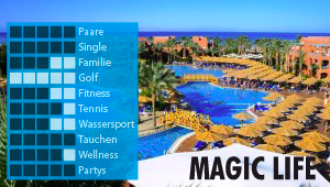 CLUB MAGIC LIFE Sharm el Sheikh Imperial bei Diko Reisen, Reisebüro in Köln