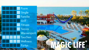 CLUB MAGIC LIFE Waterworld Imperial bei Diko Reisen, Ihr Reisebüro in Köln