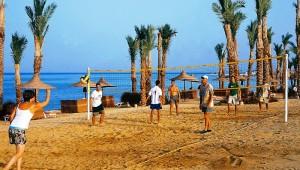 CLUB CALIMERA Habiba Beach Beachvolleyball am Strand mit anderen Gästen