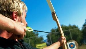 GRECOTEL Olympia Oasis Bogenschießen auf der Bogensportanlage