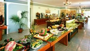 FUN CLUB Gaia Royal Village reichhaltiges Buffet im großen Restaurant