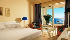 GRECOTEL Olympia Riviera Thalasso Bungalow mit Balkon und tollem Meerblick