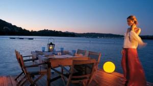 GRECOTEL Corfu Imperial romantisches Dinner zu zweit am Strand mit Meerblick