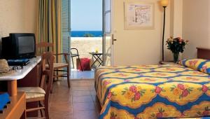 GRECOTEL Lakopetra Beach Doppelzimmer mit Balkon und Meerblick