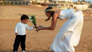 GRECOTEL Olympia Riviera Thalasso Hochzeitsfeier am Strand mit Meerblick